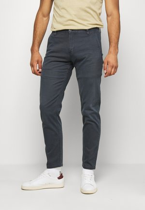 SMART SUPREME FLEX ALPHA ORIGINAL TAPERED - Pantalones chinos - sunset blue back