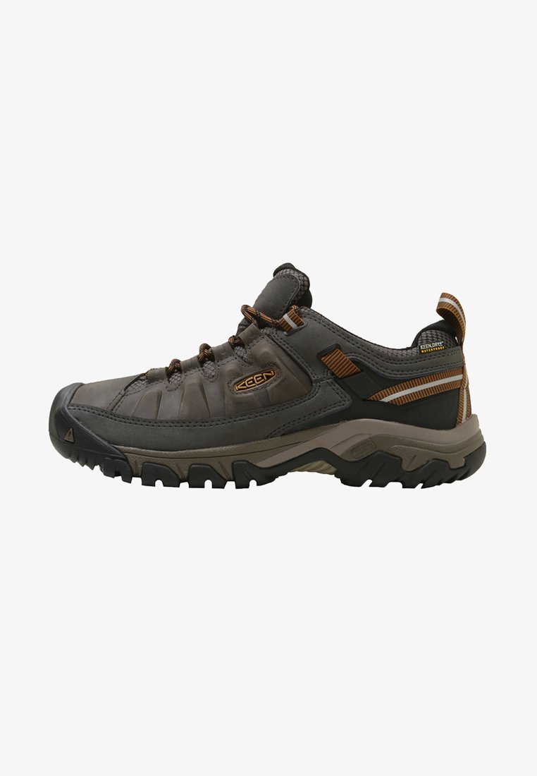 Keen - TARGHEE III WP - Hiking shoes - black olive/golden brown