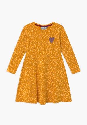 Jersey dress - senf