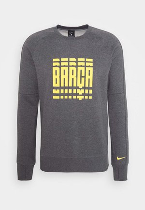 FC BARCELONA - Article de supporter - charcoal heather/amarillo