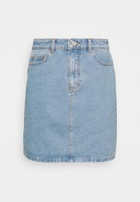 Vila - VIDERESSA SHORT SKIRT - Mini skirt - medium blue - 3