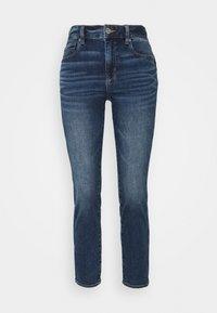 American Eagle - HI RISE - Jeans Skinny Fit - sapphire mist - 0