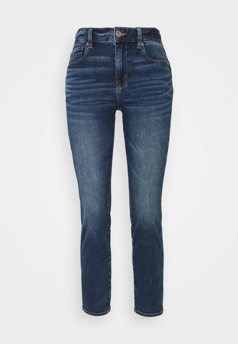 American Eagle - HI RISE - Jeans Skinny Fit - sapphire mist