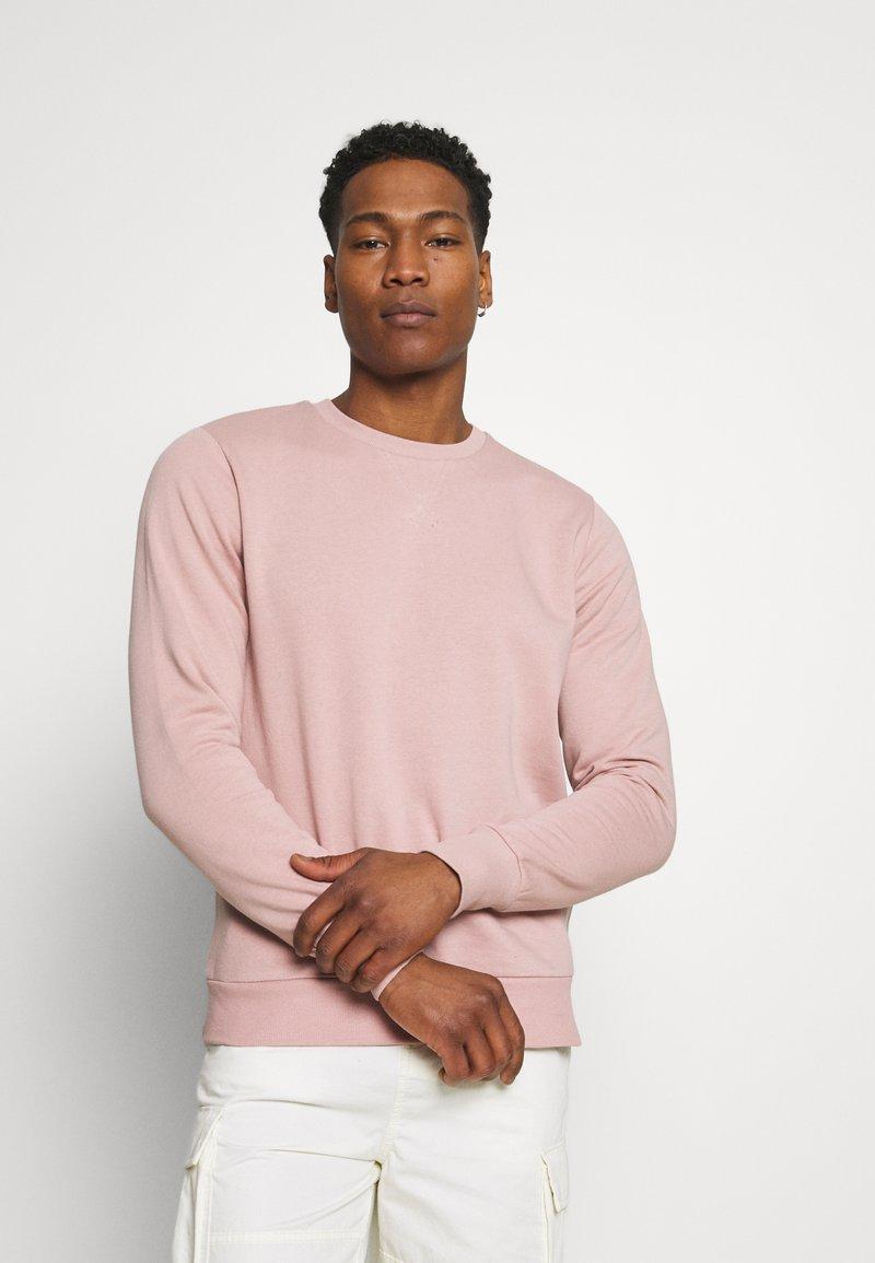 Brave Soul - Sweatshirt - dusky pink/ light grey marl