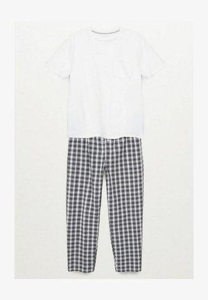Pyjama set - cremeweiß