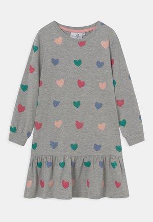 Jersey dress - grey melange