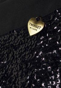 TWINSET - A-line skirt - nero - 3