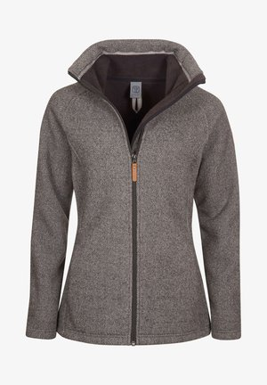 Fleece jacket - greymelange