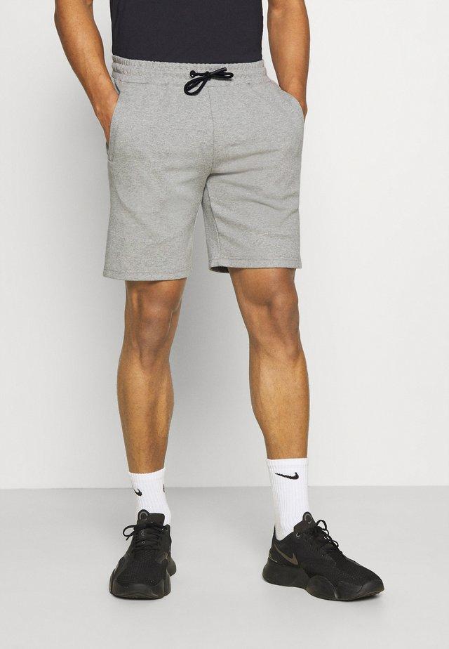 MOREL SHORT - Korte sportsbukser - mid grey mel.