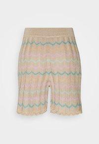ONLY - ONLANNY LIFE - Shorts - ginger root/lichen/mazarine blue - 1