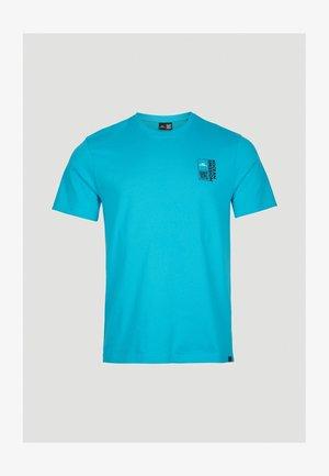 ANDAMAN SEA - Print T-shirt - pure cyan