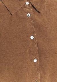 Opus - FERILLA - Button-down blouse - peanut - 2