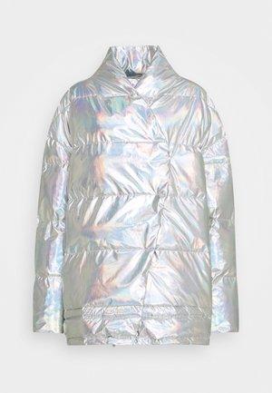 LUNGA PUFFER COAT - Winter coat - silver