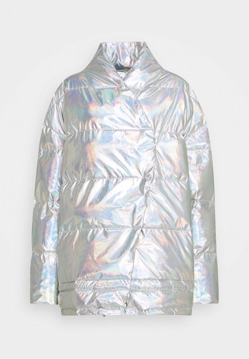 DESIGNERS REMIX - LUNGA PUFFER COAT - Winter coat - silver