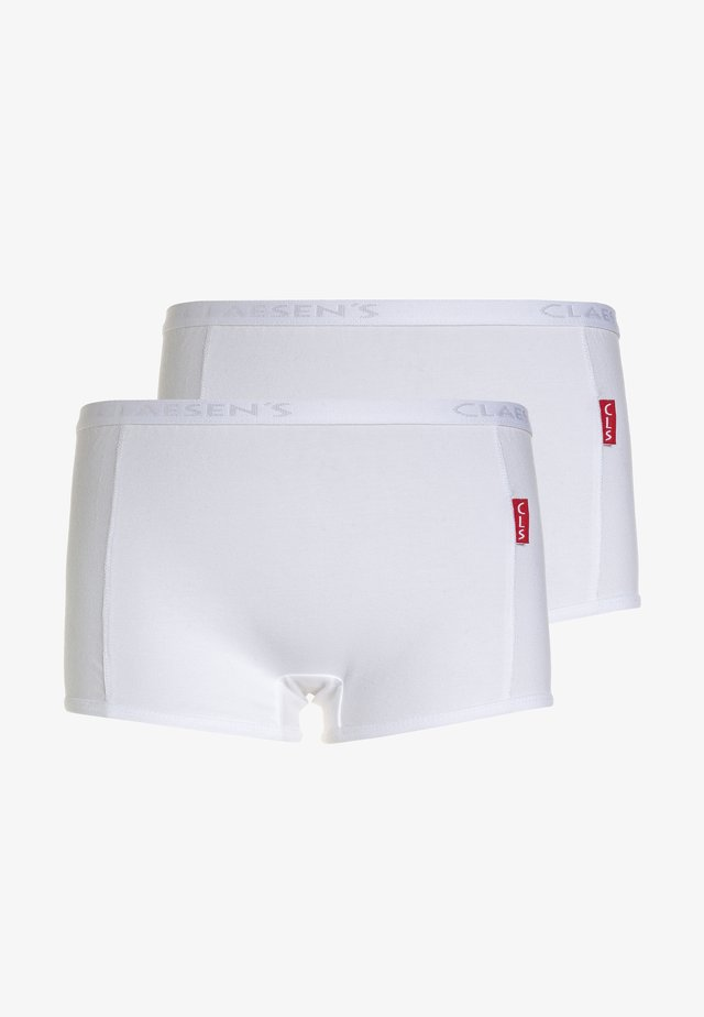 2 PACK - Panties - white