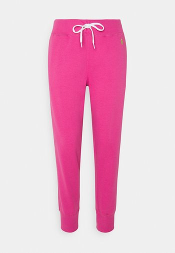FEATHERWEIGHT - Tracksuit bottoms - peony
