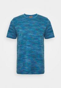 Missoni - SHORT SLEEVE - T-shirt con stampa - blue - 4