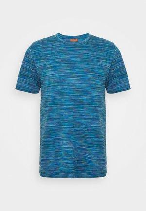 SHORT SLEEVE - Print T-shirt - blue