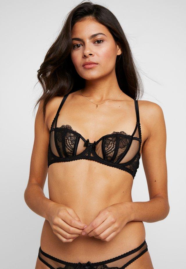 ROZLYNBRA - Kaarituelliset rintaliivit - black