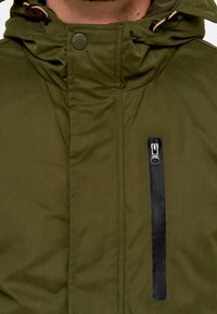 INDICODE JEANS - Parka - army - 5