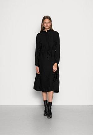 AVALINA MIDI DRESS - Skjortklänning - black