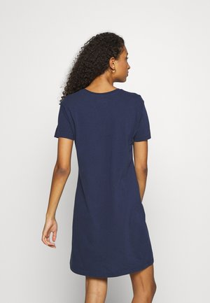 VINTAGE LOGO DRESS - Jersey dress - navy