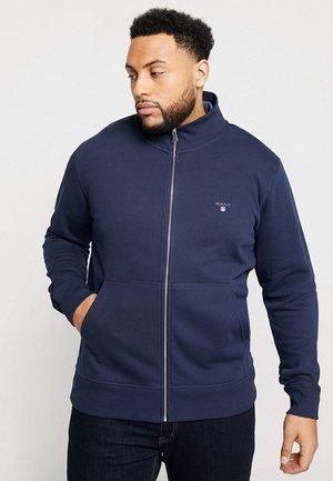 THE ORIGINAL FULL ZIP - Zip-up hoodie - evening blue