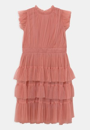 Cocktail dress / Party dress - coral haze