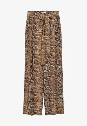 Kalhoty - braun