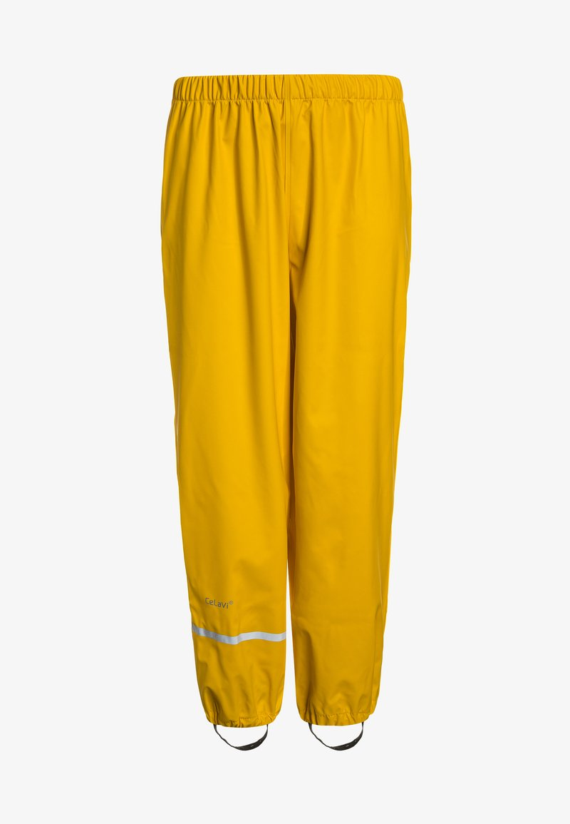 CeLaVi - RAINWEARPANTS SOLID - Rain trousers - yellow