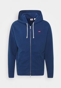 Levi's® - NEW ORIGINAL ZIP UP - Huvtröja med dragkedja - blues - 5
