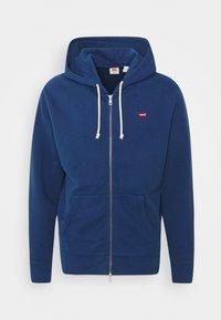 NEW ORIGINAL ZIP UP - Zip-up hoodie - blues