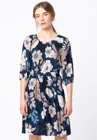 HALLHUBER - MIT MAXI-FLORALPRINT - Day dress - multicolor - 0