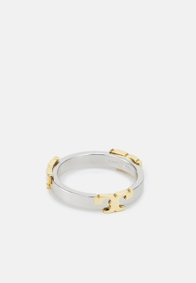 SERIF-T STACKABLE METAL RING - Bague - silver-coloured0001KC018EV