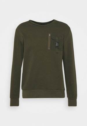 KRAVITZ - Sweater - mid khaki