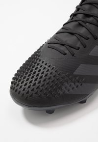 adidas Performance - PREDATOR 20.2 FG - Moulded stud football boots - core black/dough solid grey - 5