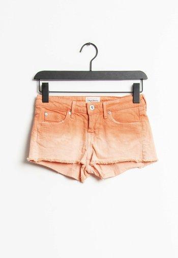Jeansshort - orange