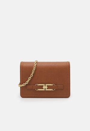 WOMEN'S BAG - Across body bag - brown