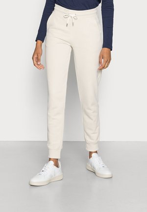 LOCK UP PANTS - Tracksuit bottoms - putty