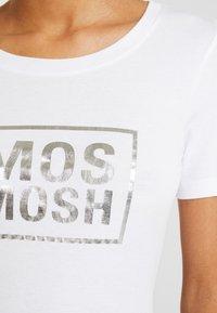 Mos Mosh - MOST TEE - Print T-shirt - white - 5