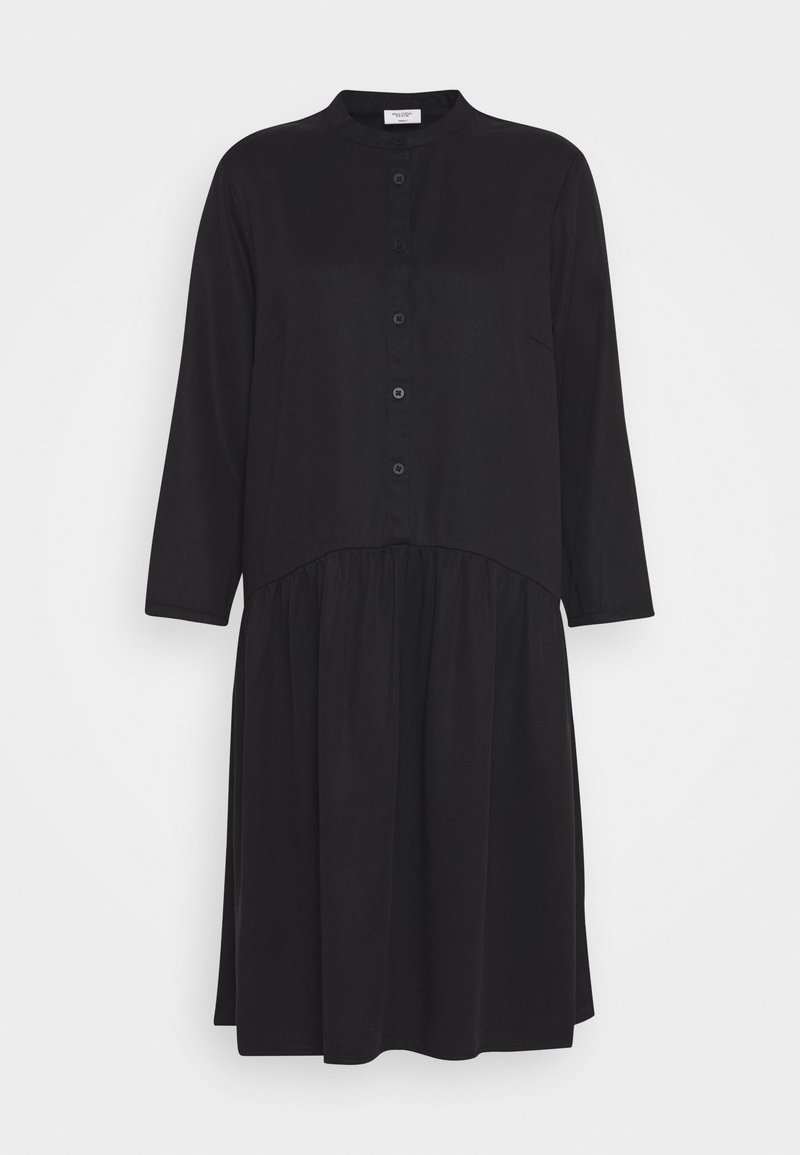 Marc O'Polo DENIM - DRESS SHORT SLEEVE - Shirt dress - black