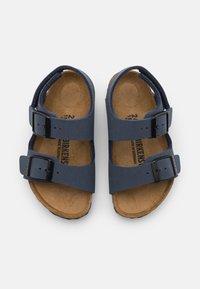 Birkenstock - MILANO UNISEX - Sandals - navy - 3