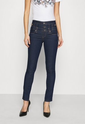 RAMPY - Slim fit jeans - dark-blue denim