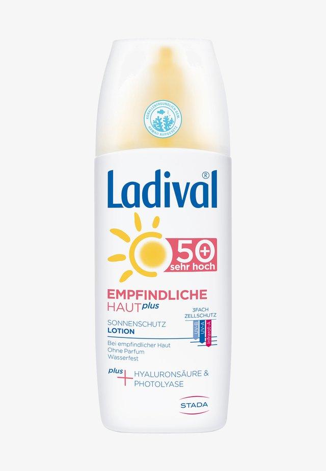 SONNENSCHUTZ EMPFINDLICHE HAUT PLUS SONNENSCHUTZ SPRAY, LSF 50+ - Sun protection - -