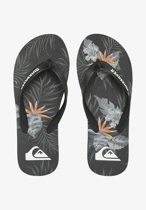 MOLOKAI EVERYDAY PARADISE  - T-bar sandals - black/grey/black