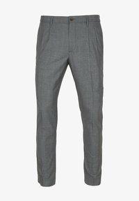 ALBERTO Pants - PLEAT - CERAMICA RETRO CHECK - Trousers - check - 0