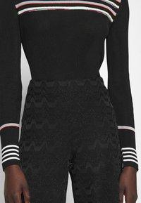 M Missoni - TROUSERS - Trousers - black - 4