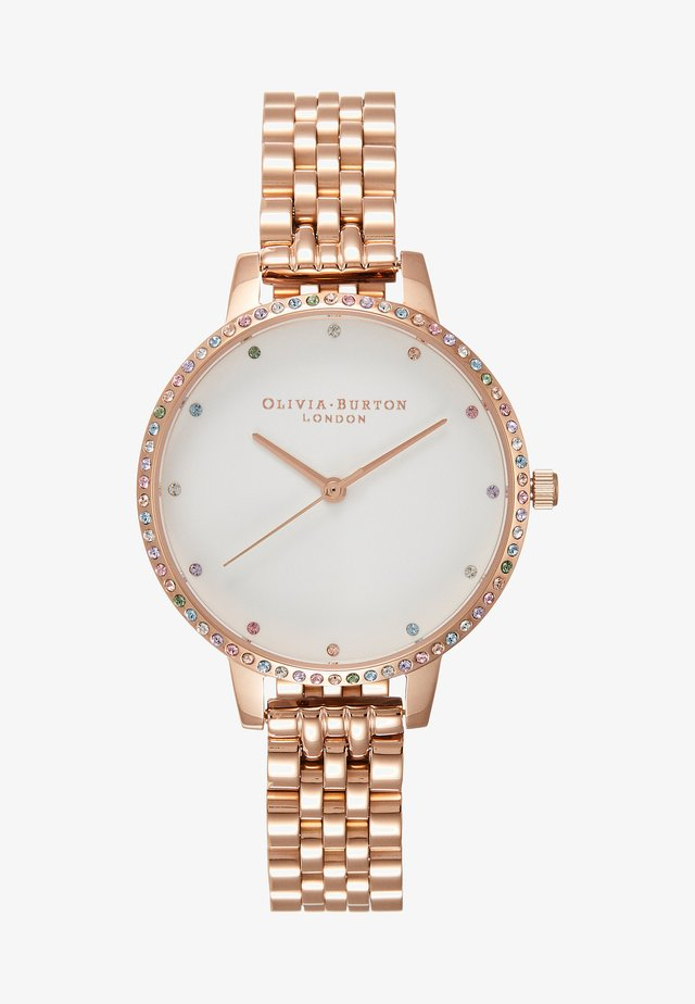 RAINBOW - Montre - rose gold-coloured
