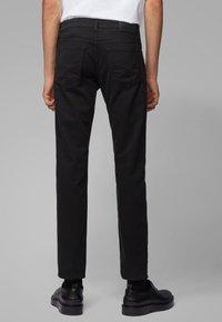 BOSS - MAINE - Straight leg jeans - black - 2