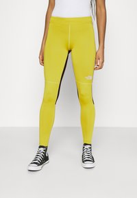 The North Face - TIGHT - Leggings - Trousers - citronelle green - 0